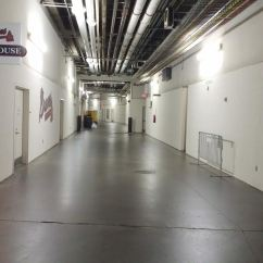 "They call these -- hacks call these -- the ""bowels"" of the stadium. It's a lonely place this time of the night. Maybe the loneliest ..."