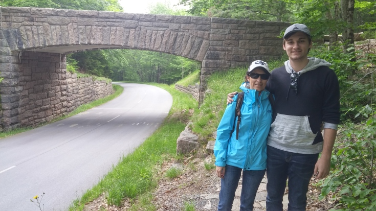 The Carriage Roads and stone bridges in Acadia National Park were paid for by some Rockefeller and were meant to accommodate hikers and carriages. They're really beautiful and we found them, even in the middle of summer, nicely quiet.