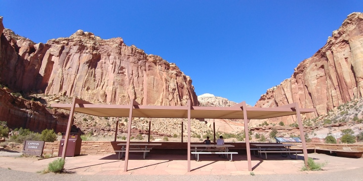 Best part about Capitol Reef and this trip into Capitol Gorge? No crowds. Like, zero.